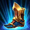 聖騎士戰靴 +110魔法防禦